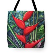 Something In Red Tote Bag by Hunter Jay