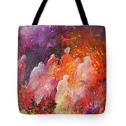 Souls In Hell Tote Bag by Miki De Goodaboom
