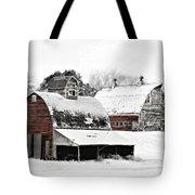 South Dakota Farm Tote Bag by Julie Hamilton