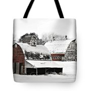 South Dakota Farm Tote Bag by Julie Hamilton