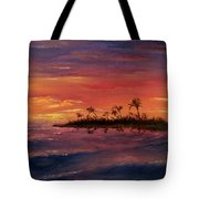 South Pacific Atoll Tote Bag by Jack Skinner