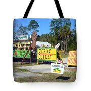 Southern Delights Tote Bag by Carla Parris