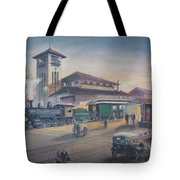 Southern Railway Tote Bag by Charles Roy Smith