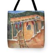 Southwest Adobe Tote Bag by Marsha Elliott