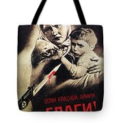 Soviet Poster, 1942 Tote Bag by Granger