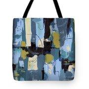 Spa Abstract 2 Tote Bag by Debbie DeWitt