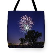 Spark and Bang Tote Bag by CJ Schmit