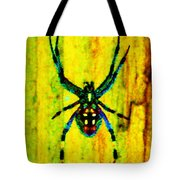 Spider Tote Bag by Daniele Smith