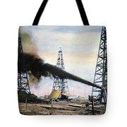 Spindletop Oil Pool, C1906 Tote Bag by Granger