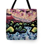 Spirit-matter Fluctuation Tote Bag by Dale Beckman