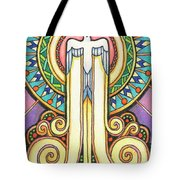 Spirit Rising Tote Bag by Amy S Turner