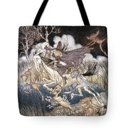 Spirits In Sleepy Hollow Tote Bag by Granger