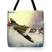 Spitfire Tote Bag by Marc Stewart