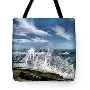Splash Happy Tote Bag by Kym Clarke
