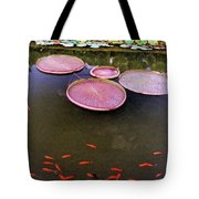 Splash Of Tangerine Tote Bag by Jan Amiss Photography