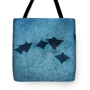 Spotted Eagle Rays Tote Bag by Dave Fleetham - Printscapes