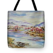 Spring Breeze Tote Bag by Xueling Zou