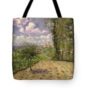 Spring Tote Bag by Camille Pissarro