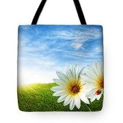 Spring Tote Bag by Carlos Caetano