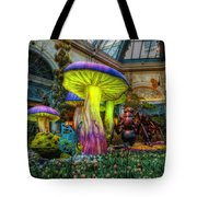 Spring Mushrooms Tote Bag by Stephen Campbell