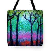Spring Woodland Tote Bag by John  Nolan