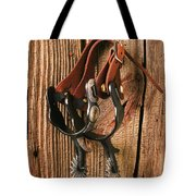 Spurs Tote Bag by Garry Gay