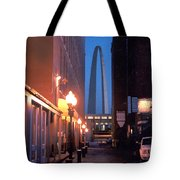 St. Louis Arch Tote Bag by Steve Karol