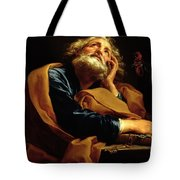 St Peter Tote Bag by Pompeo Girolamo Batoni