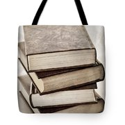 Stack of books Tote Bag by Elena Elisseeva