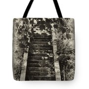 Stairway To Heaven Tote Bag by Bill Cannon