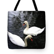 Stanley Park Swans Tote Bag by Will Borden