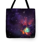 Star Cluster Tote Bag by Corey Ford
