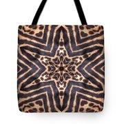 Star Of Cheetah Tote Bag by Maria Watt