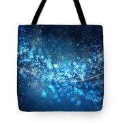 Stars And Bokeh Tote Bag by Setsiri Silapasuwanchai