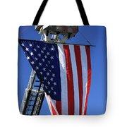 Stars and Stripes Tote Bag by Karol  Livote