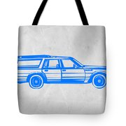 Station Wagon Tote Bag by Naxart Studio