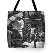 Statue Of Liberty, 1881 Tote Bag by Granger