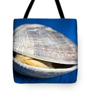 Steamed Clam Tote Bag by Frank Tschakert