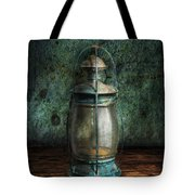 Steampunk - An old lantern Tote Bag by Mike Savad