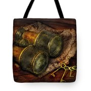 Steampunk - Extendo Optics  Tote Bag by Mike Savad