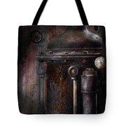 Steampunk - Handling Pressure  Tote Bag by Mike Savad