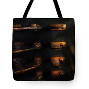 Steampunk - Pull The Switch Tote Bag by Mike Savad