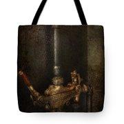 Steampunk - Plumbing - Number 4 - Universal  Tote Bag by Mike Savad