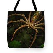 Steampunk - Spider - Arachnia Automata Tote Bag by Mike Savad