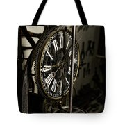 Steampunk - Timekeeper Tote Bag by Paul Ward