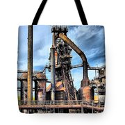 Steel Stacks Bethlehem Pa. Tote Bag by DJ Florek