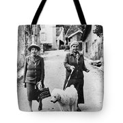 STEIN AND TOKLAS, 1944 Tote Bag by Granger