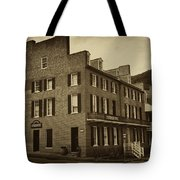 Stephensons Hotel - Harpers Ferry  West Virginia Tote Bag by Bill Cannon