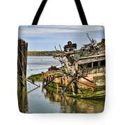 Still Afloat Tote Bag by Heather Applegate