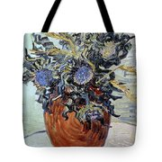 Still Life with Thistles Tote Bag by Vincent van Gogh